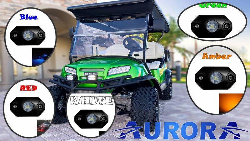 Best LED Lights For Golf Carts Part II - Under body Lighting