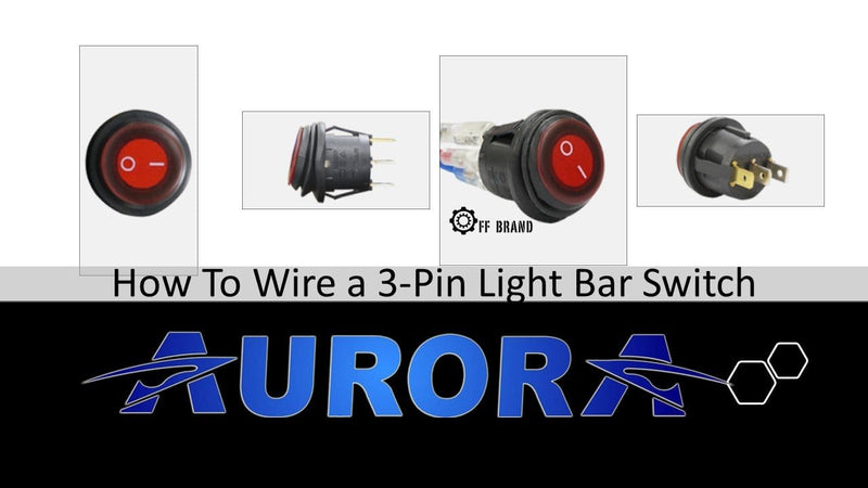 How To Wire A 3-Pin Light Bar Switch