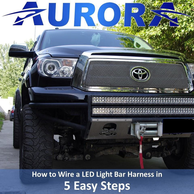 How to Wire a LED Light Bar Harness in 5 Easy Steps
