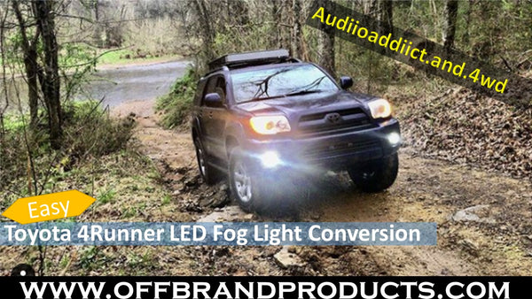 toyota-4runner-led-fog-light-conversion
