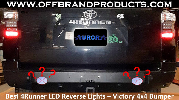 Best Victory 4x4 LED Reverse Lights for Toyota 4Runner