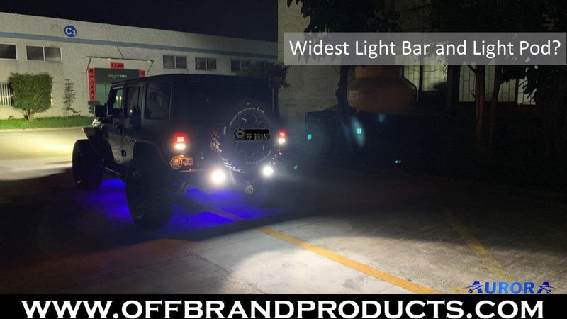 What is the Widest LED Light Bar on the Market?