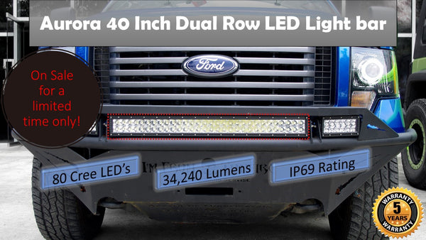 Aurora 40 Inch Dual row off road LED light bar