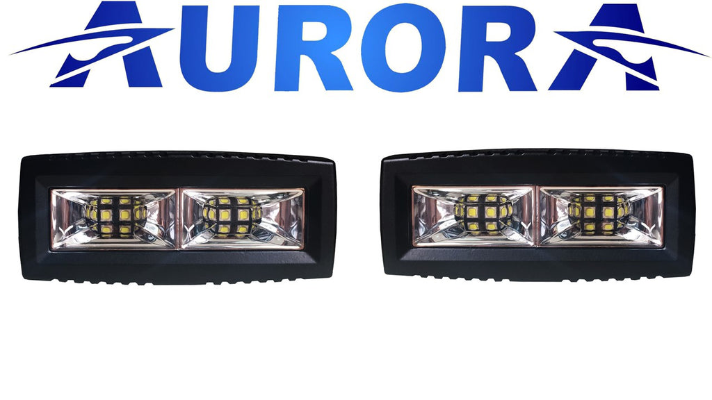 aurora led reverse lights wide angle scene beam