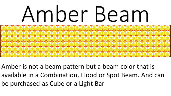 aurora amber beam truck led light bar