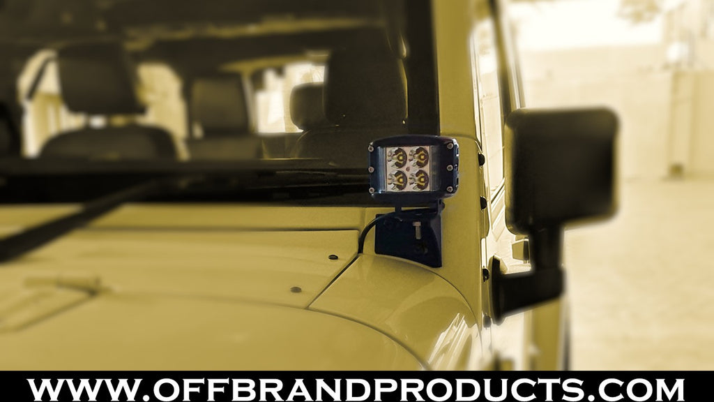 aurora jeep wrangler led pod light