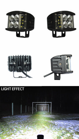 Aurora led side shooter