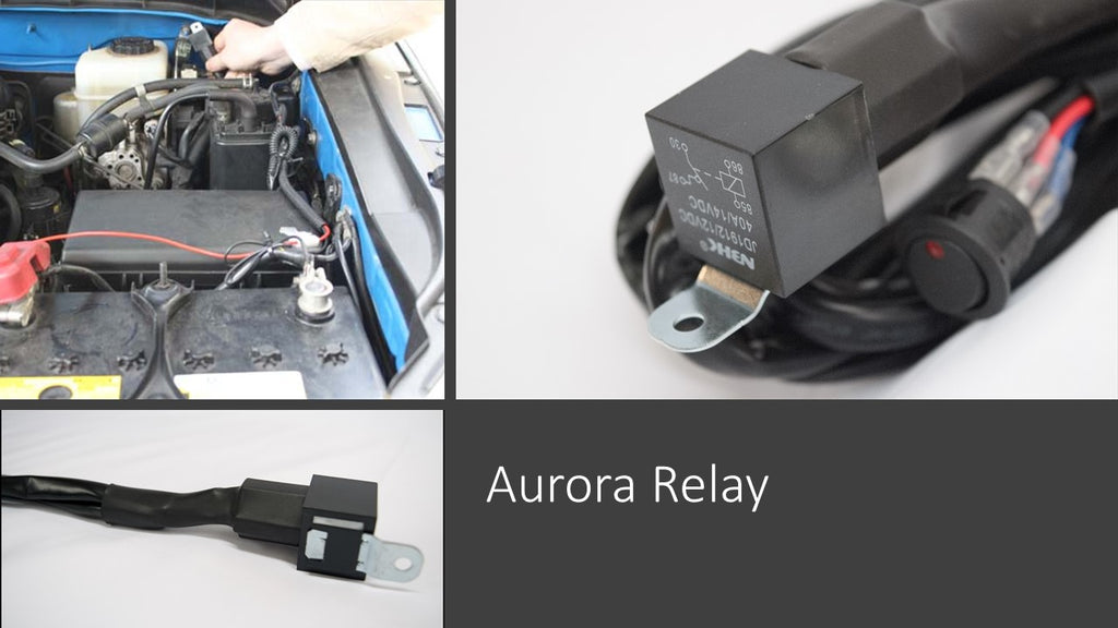 aurora truck led light bar relay