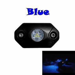 blue led light aurora