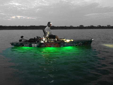 aurora led fishing lights