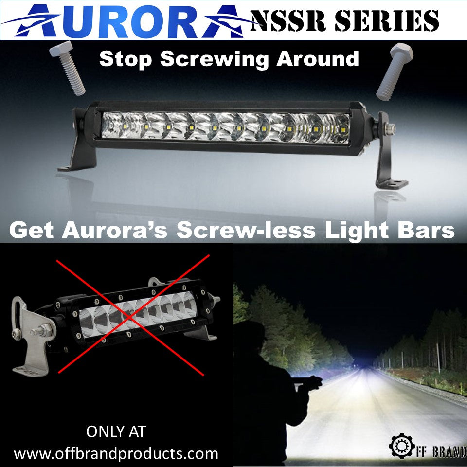 aurora nssr series s5 light bars
