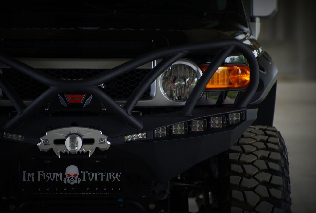 Toyota FJ led flood lights - Aurora