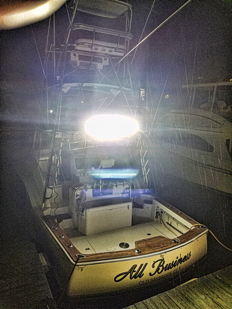 tuna tower boat light bar 50 inch aurora