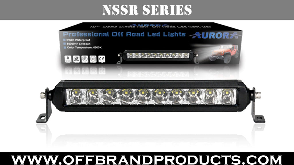 Aurora S5 NSSR Series light bar