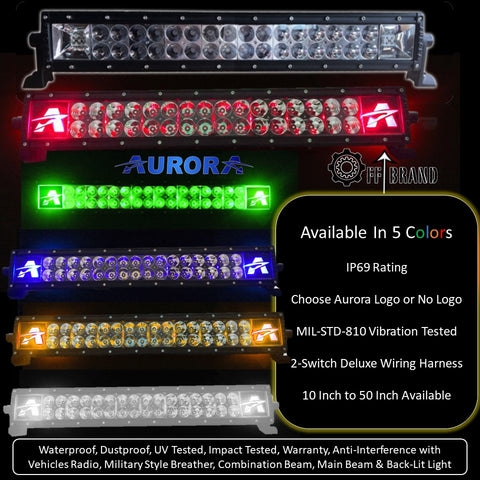 aurora led light bars