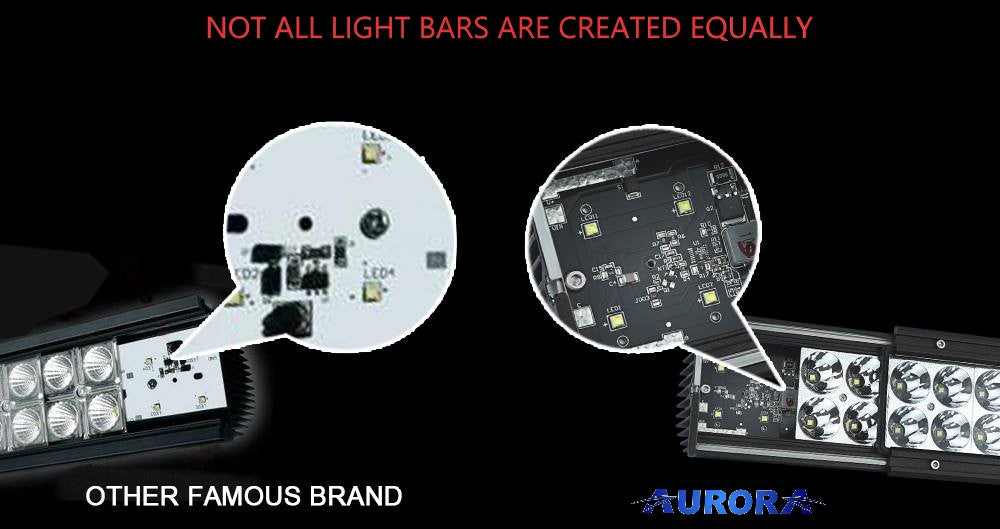 best led light bars for jeep wrangler is Aurora