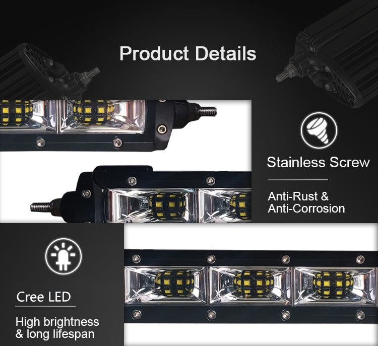 Aurora single row scene LED light bar