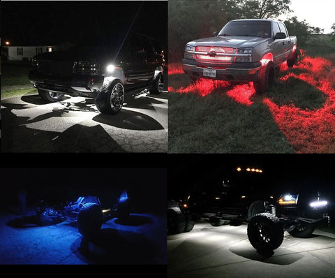 aurora led rock lights