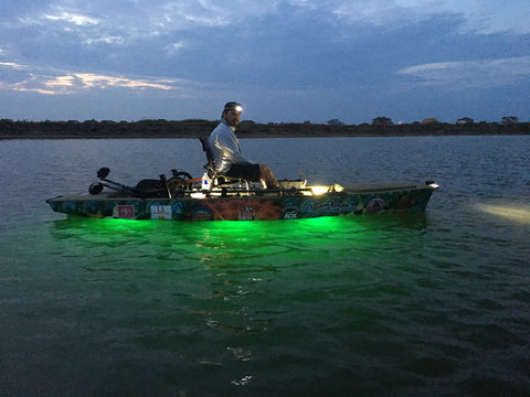 green led boat lights