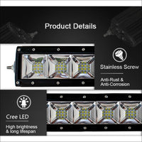Aurora 10 Inch Dual Row LED Light Bar with Scene Beam Pattern - LED Light Bar