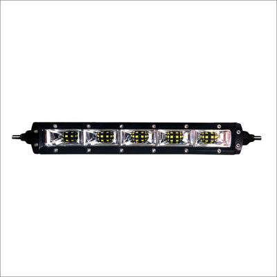 Aurora 10 Inch Single Row LED Light Bar with Scene Beam Pattern - LED Light Bar