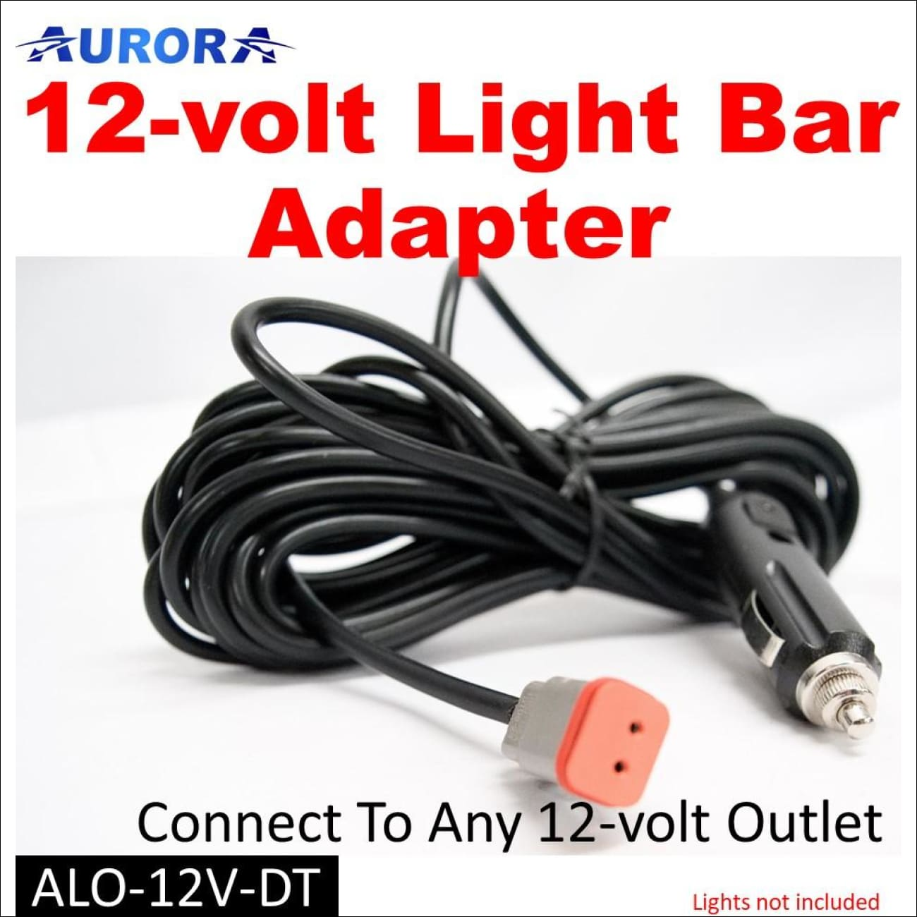 Aurora 12-Volt Cigarette Lighter Adapter Wiring Harness – OBPOff Brand Products