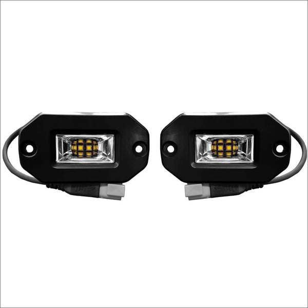 Aurora 2 Inch Flush Mount LED Light w/ Scene Beam Pattern - 1 800 Lumens - LED Light Pod