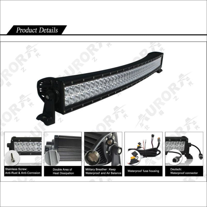 Aurora 20 Inch Curved LED Light Bar - 17 120 Lumens - LED Light Bar