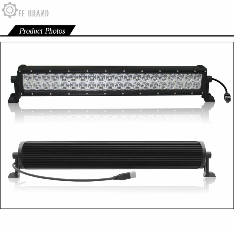 Aurora 20 Inch Dual Row E-Mark Complaint LED Light Bar - 23 760 Lumens - LED Light Bar