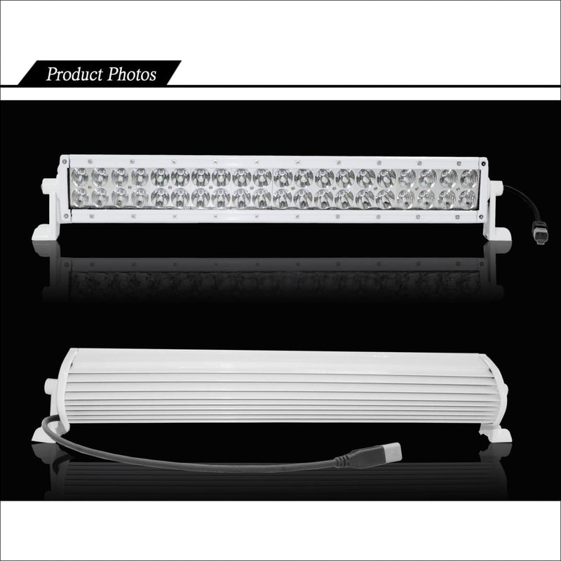 Aurora 20 Inch Marine White LED Light Bar - 17 120 Lumens - Marine LED Light Bars