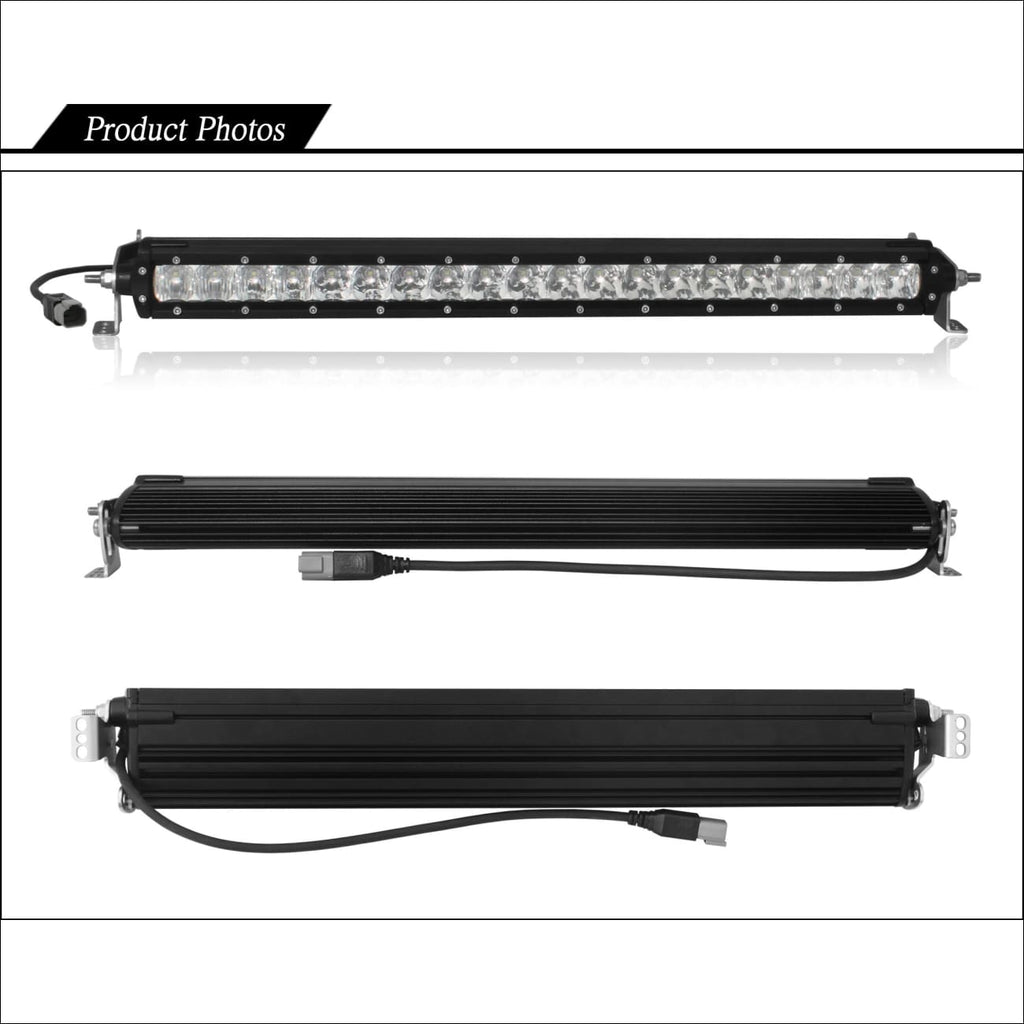 Aurora single row light bars