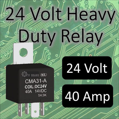 Aurora 24 Volt LED Light Bar Relay - LED Accessories - 24 Volt Relay
