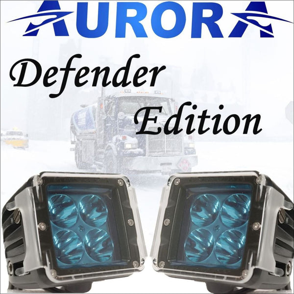 Aurora 3 Inch LED Cubed lights kit Defender Edition - 3 880 Lumens - LED Light Pod