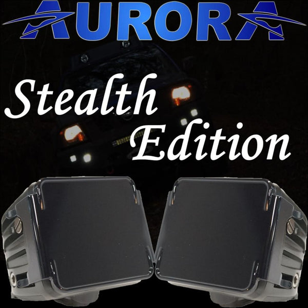 Aurora 3 Inch LED Cubed lights kit Stealth Edition - 3 880 Lumens - LED Light Pod