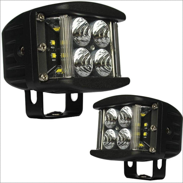 aurora off road led light pod side shooter edition flood beam spot beam