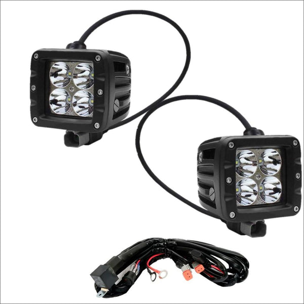 Aurora 3 Inch LED Cubed lights kit - 3,880 Lumens