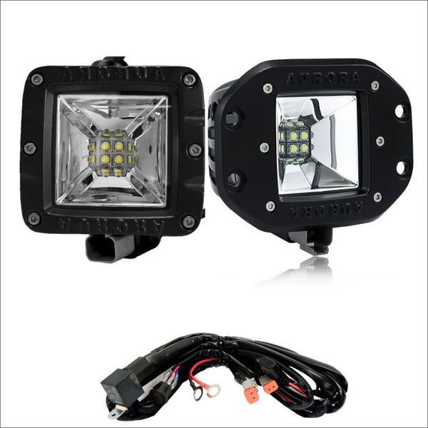 Aurora 3 Inch Wide Angle Scene Beam LED Light Kit