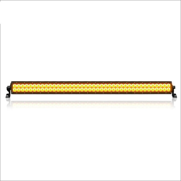 Aurora 40 Inch Amber Dual Row LED Light Bar - Amber LED Light Bar