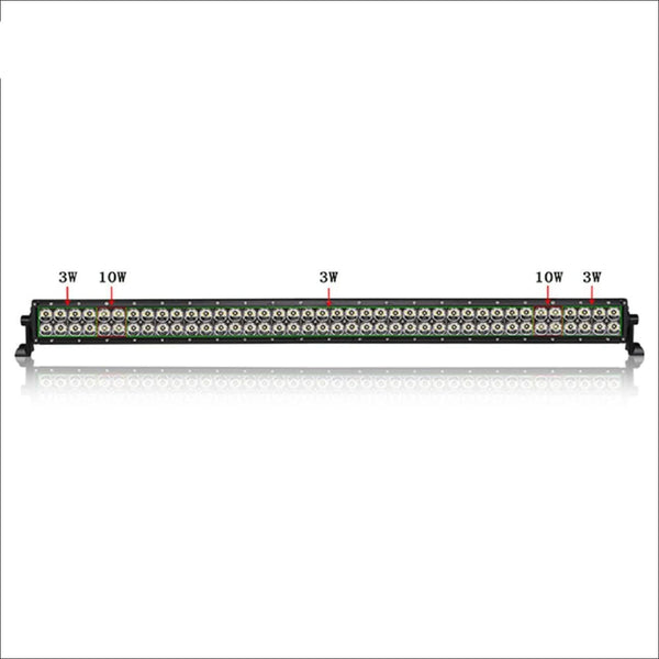 Aurora 40 Inch Dual Row Led Light Bar - Hybrid Series - 30 168 Lumens - Led Light Bar