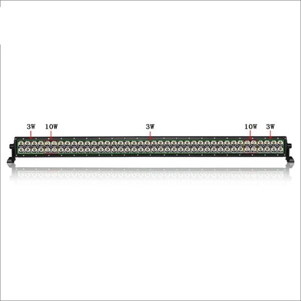 Aurora 50 Inch Dual Row LED Light Bar - Hybrid Series - 37 548 Lumens - LED Light Bar