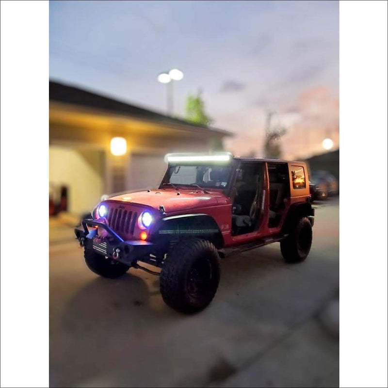 Jeep Wrangler 50 inch light bar kit