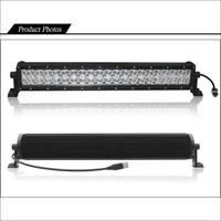 Aurora 6 Inch Dual Row LED Light Bar - 5 136 Lumens - Dual Row LED Light Bar