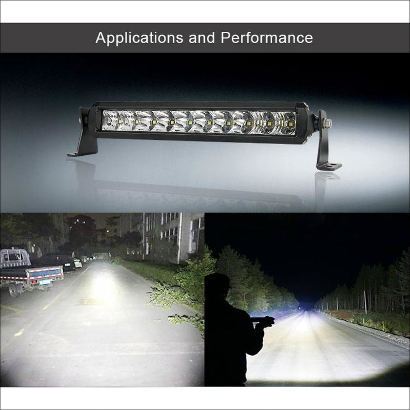 Aurora 6 Inch Single Row Slim NSSR Series - LED Light Bar