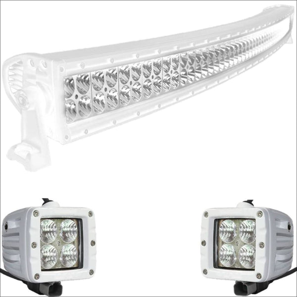 Aurora CAT 5 Bundle Curved - 50 Inch Plus 3 Inch - 46,000 Lumens