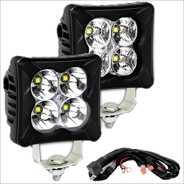 Aurora D3 Series 3 Inch LED Pod light kit - 3 424 Lumens - LED Light Pod