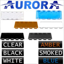 Aurora Dual Row Light Bar Covers - LED Accessories - Light Bar Cover