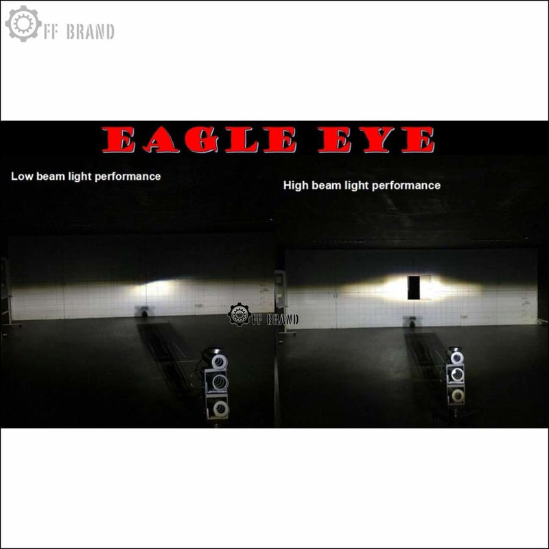 Aurora Eagle Eye LED Head Light Kit - Jeep Wrangler JK - Headlights