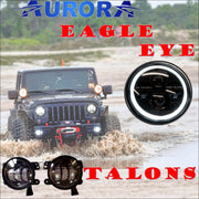 Aurora Eagle Eye LED Head Light & Talon LED Fog-light Kit - Jeep Wrangler JK - Headlights