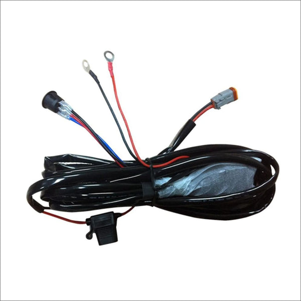 "Aurora LED Light Wiring Harness Kit for LED Light Bars 4"" to 30"""