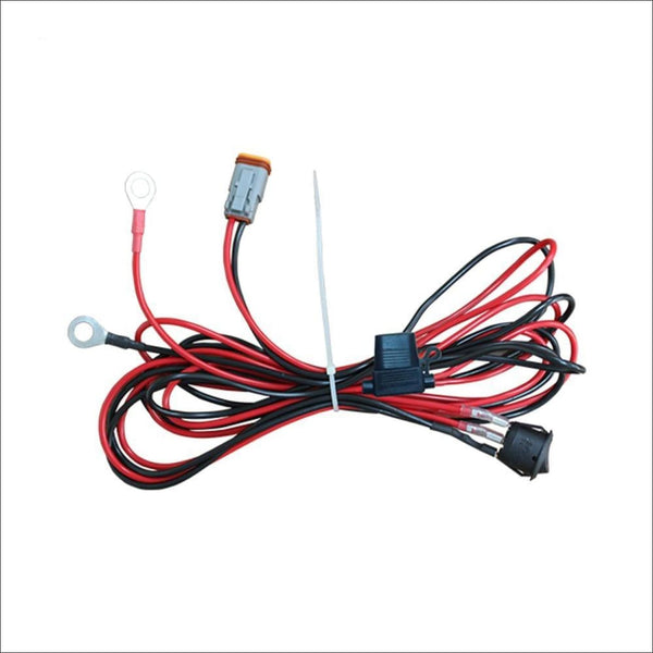 Aurora LED Light Wiring Harness Kit for Single Pod, Cubed and Work Light